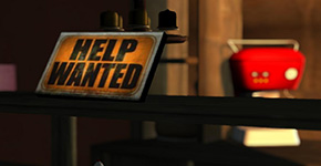 Help Wanted Signs in Dead End Businesses Roleplay